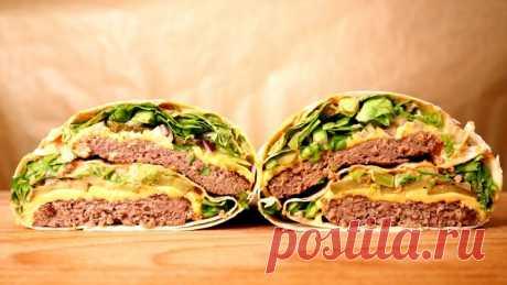 «Биг Мак Ролл» - сытный ужин в лаваше