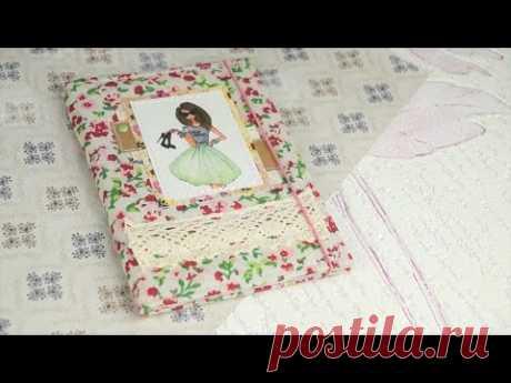 (2108) Мастер класс / Мягкая Обложка на паспорт своими руками - YouTube