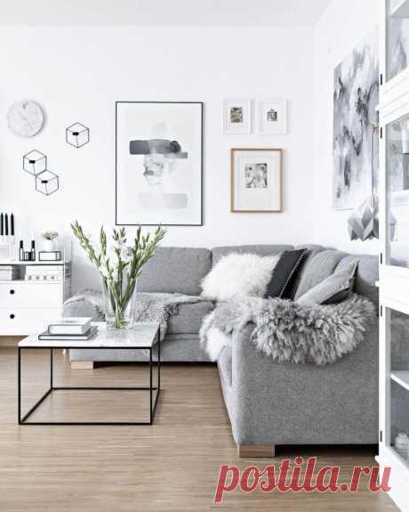 Скандинавский стиль в интерьере: 40 идей дизайна ~ ALL-DEKOR.RU