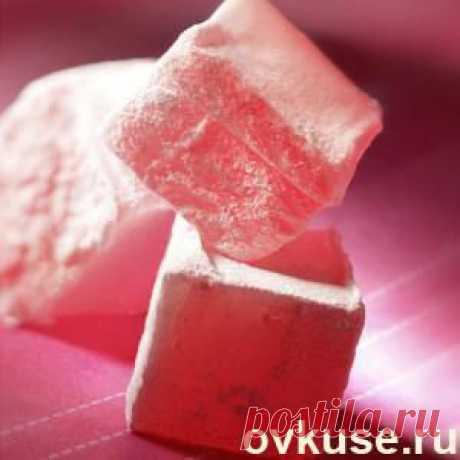 Клубничный Рахат-лукум - Простые рецепты Овкусе.ру