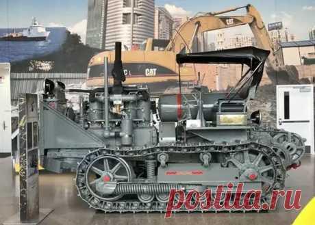 Трактор «С-60» Первенец Челябинского тракторного завода   Oldtimer weekly   Яндекс Дзен