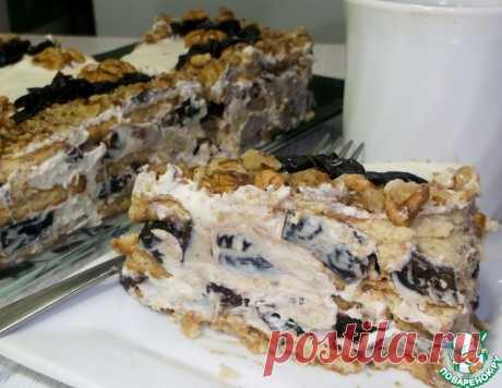 Торт без выпечки на 23 февраля – кулинарный рецепт