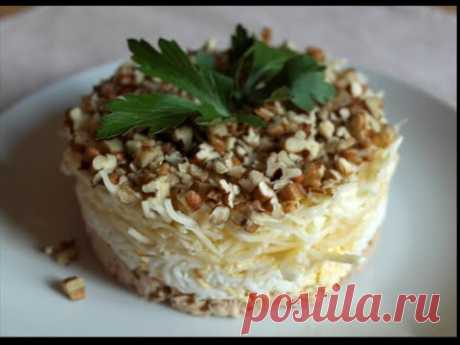 Салат Принц. Рецепты вкусных слоеных салатов. Новогодние рецепты на 2016 год
