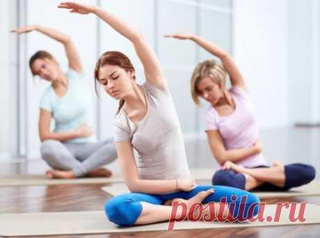 Упражнения азиатской гимнастики против болезней - Буратинсбургер