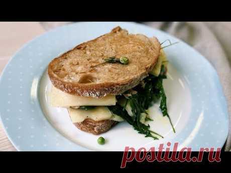 Юлия Высоцкая — Теплый бутерброд с тунцом и сыром