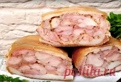 Куриный рулет: царская закуска вкуснее колбасы | Краше Всех