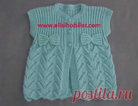 Basak Knitted children's vests Design of templates | Hobby