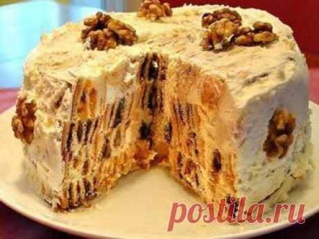 """Торт """"Трухлявый пень"""" - никто не поверит, что он приготовлен дома! Этим тортом я всегда удивляю и радую свою гостей и родных. Он настолько оригинальный в разрезе получается, что трудно поверить в то, что приготовлен дома. Торт «Трухлявый пень» достаточно прост в приготовлении..."""