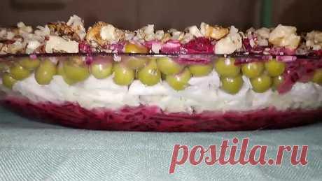 ПП-салат со свеклой. Быстро, вкусно, полезно!
