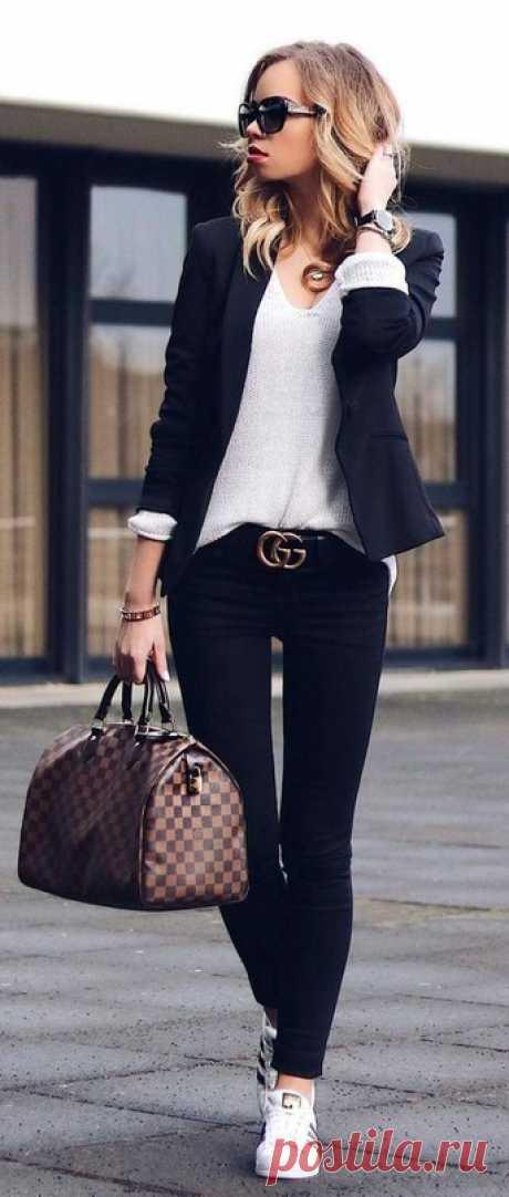 Образы с черными брюками — Модно / Nemodno