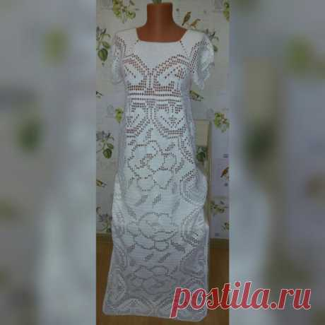 White crochet dress от FashionLoop на Etsy