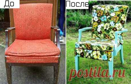 17 лучших идей переделки старой мебели, которые помогут качественно обновить интерьер | Милая Я