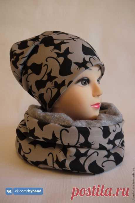 Трикотажная шапка. Выкройка (Шитье и крой) – Журнал Вдохновение Рукодельницы