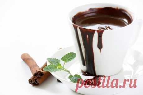 Горячий шоколад со специями. Ингредиенты:  молоко - 350мл