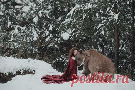 Портреты с дикими животными Ольги Баранцевой   Блог о фотографии   Команда foto.by
