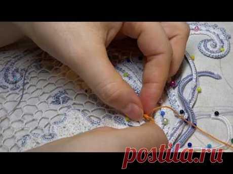 Вязание сеточки, маленькие хитрости