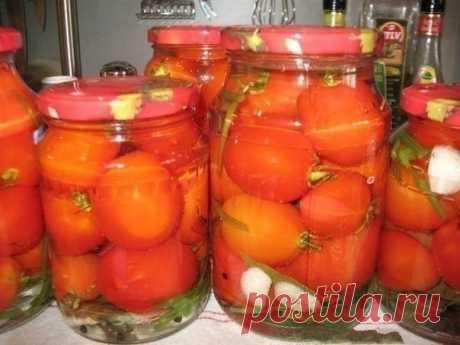 Маринованные помидоры сладко-острые — Sloosh – кулинарные рецепты