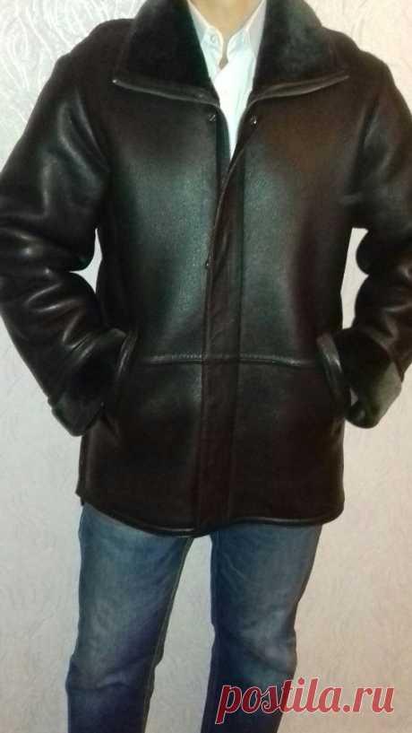 Дубльонка кожаная р 50 в отличном состоянии (одевалась два раза): 1 300 грн. - Мужская одежда Чигирин на Olx