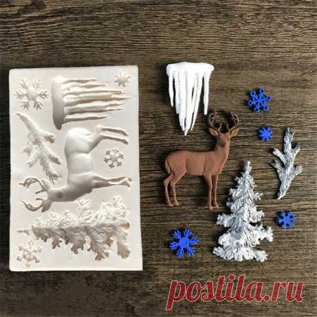 Силиконовая форма молд для изготовления конфет и мыла размер фигурок небольшой, примерно 5-8см, снежинки 2см  https://s.click.aliexpress.com/e/mRLiuIXQ?product_id=..