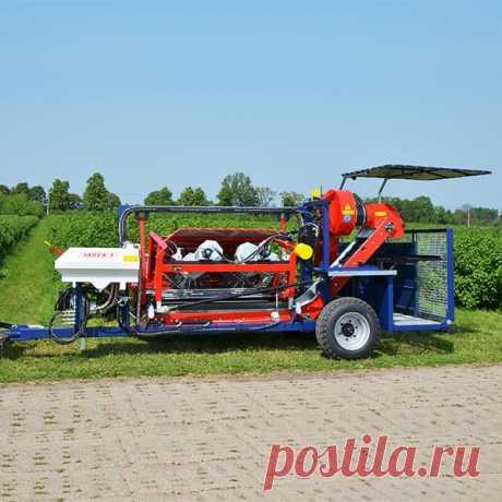 Полурядный комбайн для уборки и сбора смородины JAREK 5 купить в Беларуси, цены в каталоге