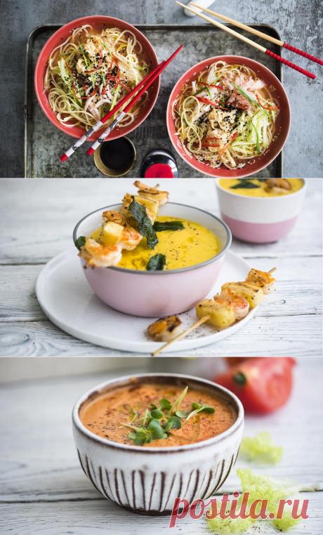 4 холодных блюда для теплых летних дней