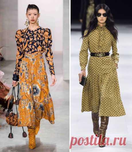 Тренды осени-2019: красиво, женственно, стильно - Икона стиля