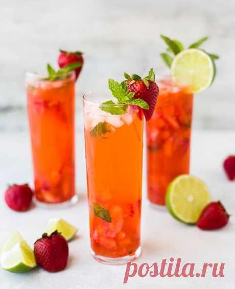 Топ-5 Las recetas de los cocteles no alcohólicos de fresa