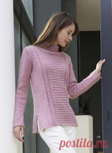 Пуловер Bergere de France
