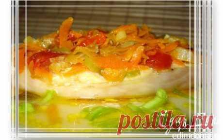Зубатка с овощами | Кулинарные рецепты от «Едим дома!»