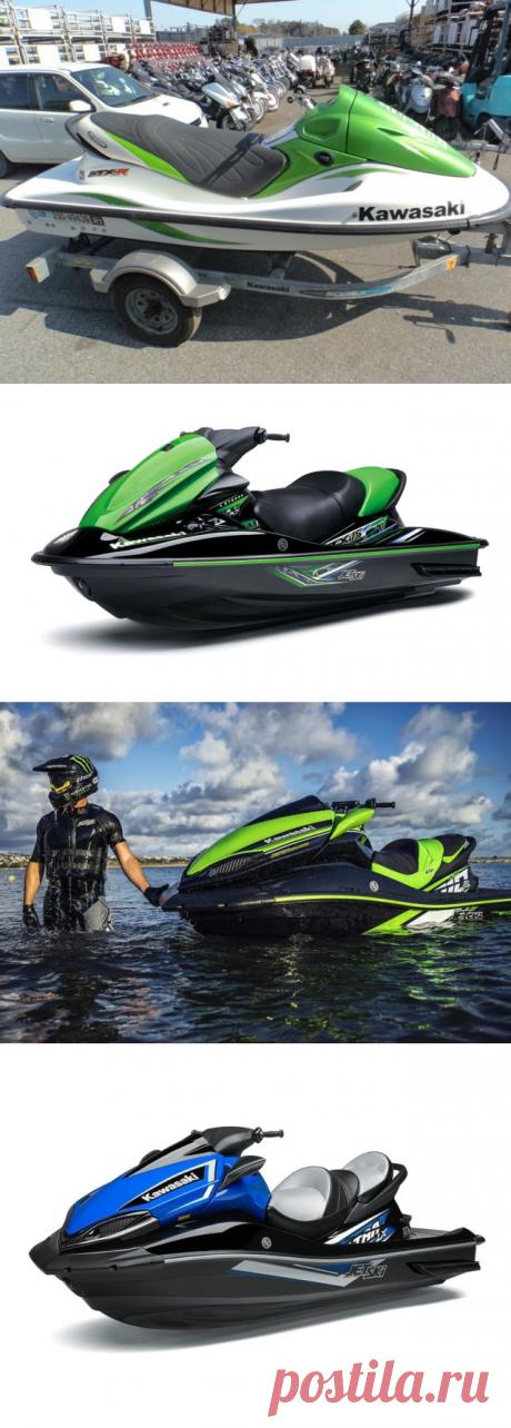 Гидроцикл Kawasaki — характеристика, фото, отзывы