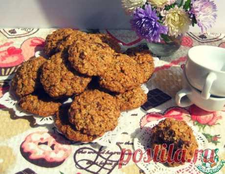 Овсяное печенье с орехами – кулинарный рецепт