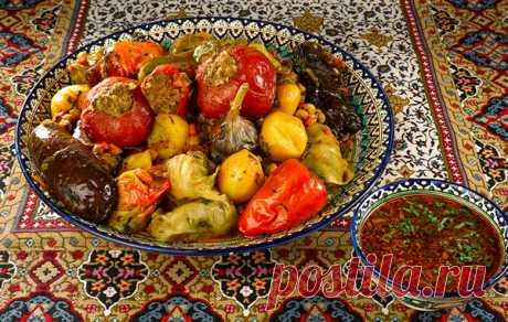 Страница автора: Сталик Ханкишиев, рецепт: Овощная долма