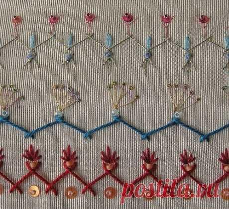 (9) Gallery.ru / Фото #79 - вышивка стежком. декоративные швы - Vladikana