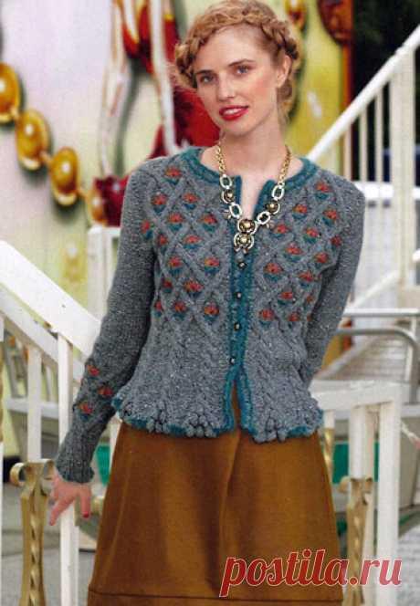 Жакет в стиле национального костюма