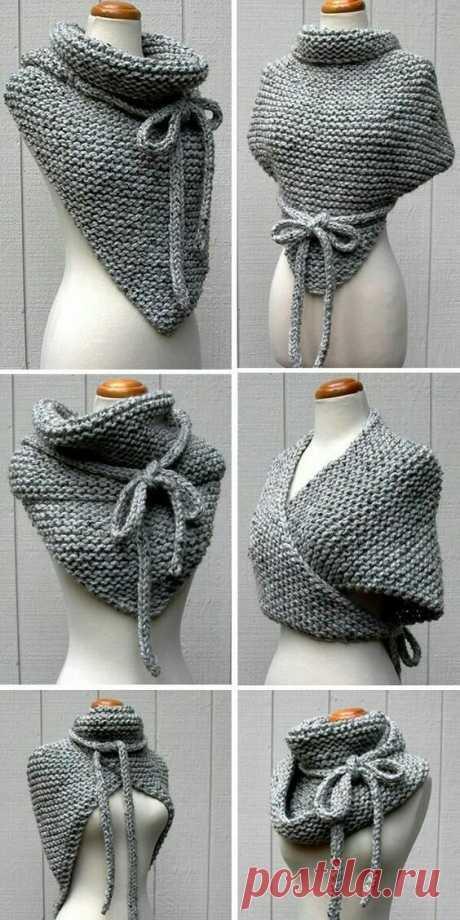 Подборка необычных вязаных шарфов для осени и зимы   Только handmade   Яндекс Дзен