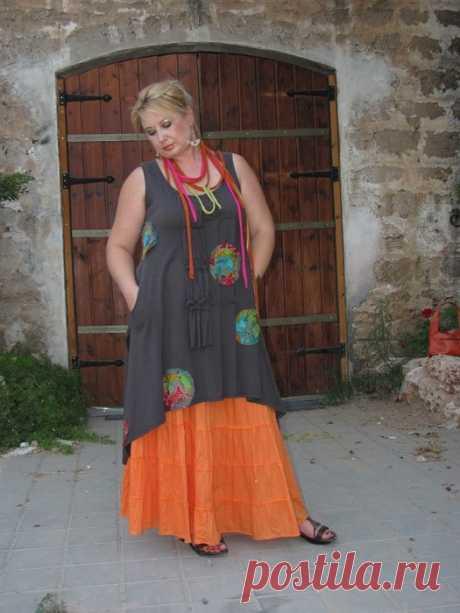 """Стиль бохо в одежде: фото, как одеваться, что носить. Идеи для полных и пожилых — Имя """"Мода"""""""