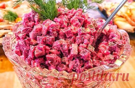 Салат «Шуба-дуба». Очень вкусно, оригинально и аппетитно! Пошаговый рецепт приготовления салата с запеченной свеклой, селёдкой и брынзой - «Шуба-дуба». Очень вкусно, оригинально и аппетитно!