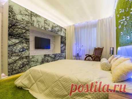 Спальня, способная снять стресс #интерьерспальни #дизайнспальни #дизайнинтерьера