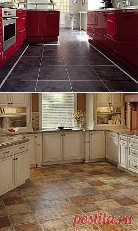 Ламинат для кухни под плитку - инструкция по выбору с фото, а также видео, как уложить влагостойкий ламинат своими руками