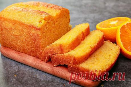 Мягкий ароматный цитрусовый кекс из одного апельсина - КУХНЯ МИРА