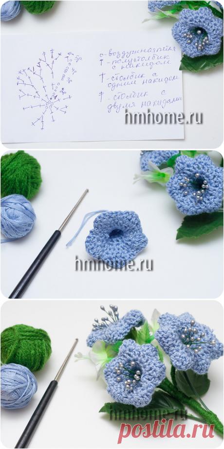 Вязание крючком колокольчика - Домашний hand-made