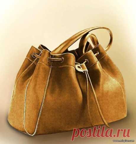 Всеми любимая сумка мешок - Drawstring bag. Готовые выкройки в натуральную величину