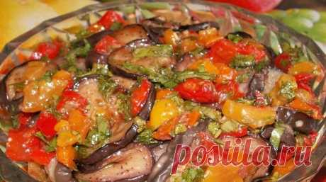 Tasty eggplants for the winter without sterilization, everything put also in bank