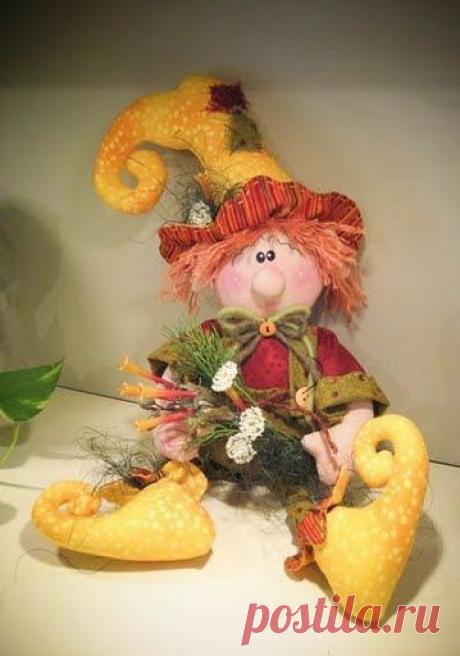 Текстильные куклы - Эльфы, Гномы и т.д. Выкройки и идеи для шитья!   Юлия Жданова   Яндекс Дзен