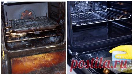 3 способа очищения духовки от застарелого жира средствами, которые есть почти на каждой кухне | Пенсионерка из глубинки | Яндекс Дзен