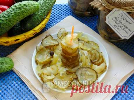Огурцы «Бутербродные» без стерилизации на зиму, рецепт с фото