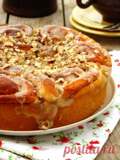 Тыквенные булочки с орехами и коричневым сахаром - dolphy — LiveJournal