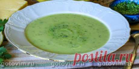(+3) Суп-пюре из кабачков с песто из петрушки : Супы : Кулинария : Subscribe.Ru