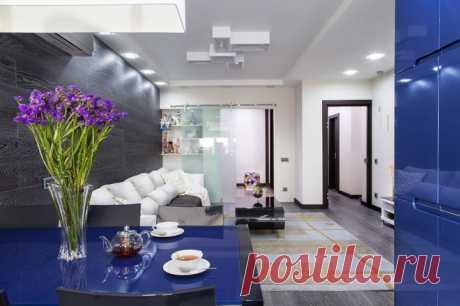 Houzz тур: Квартира c яркой кухней и мебелью из Китая