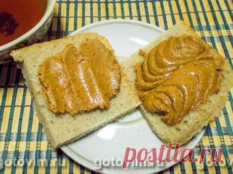Домашняя арахисовая паста. Рецепт с фото